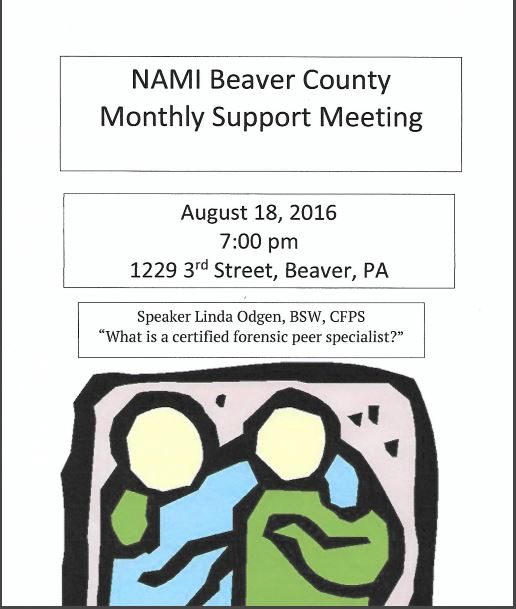 august support meeting